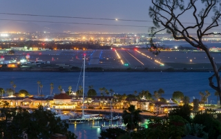 San Diego Night View